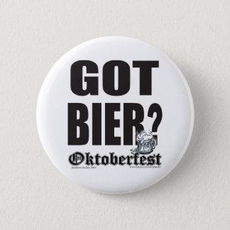 Oktoberfest erhielt Totenbahre? Runder Button 5,7 Cm