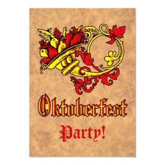 Oktoberfest Feier 12,7 X 17,8 Cm Einladungskarte