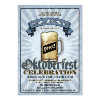 Oktoberfest Feier-Party Einladungen