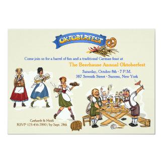 Oktoberfest Fest-Einladung