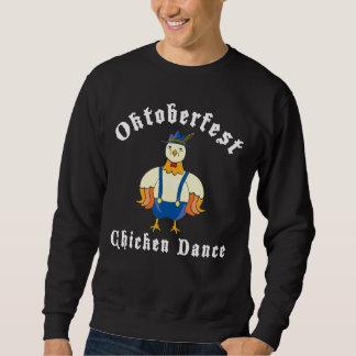 Oktoberfest Huhn-Tanz-Schwarz-T - Shirt