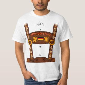 Oktoberfest Lederhosen-T - Shirt