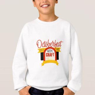 Oktoberfest Logo-Entwurfs-Schablone Sweatshirt