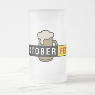Oktoberfest Matte Glastasse