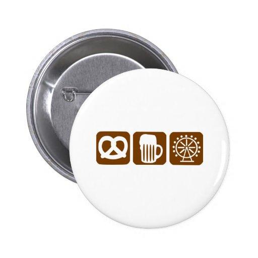 Oktoberfest - München Buttons