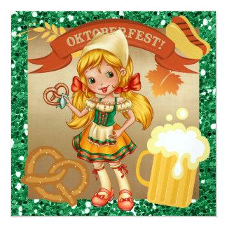 OKTOBERFEST/Octoberfest - SRF Quadratische 13,3 Cm Einladungskarte
