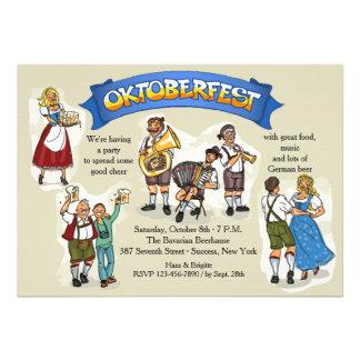 Oktoberfest Party Einladung