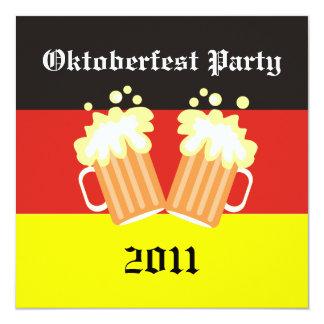 Oktoberfest Party Einladungen