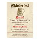 Oktoberfest Party Karte