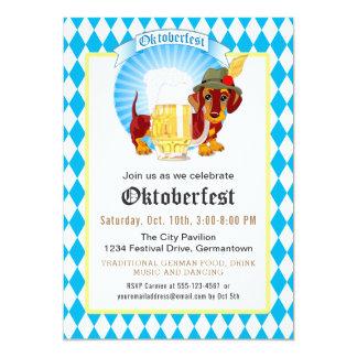 Oktoberfest Party und Feier 12,7 X 17,8 Cm Einladungskarte