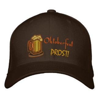 Oktoberfest Prost! Bier-Festival Bestickte Baseballkappe