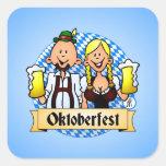 Oktoberfest Quadratsticker