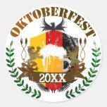 Oktoberfest Runde Sticker
