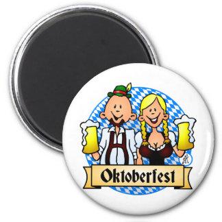 Oktoberfest Runder Magnet 5,1 Cm