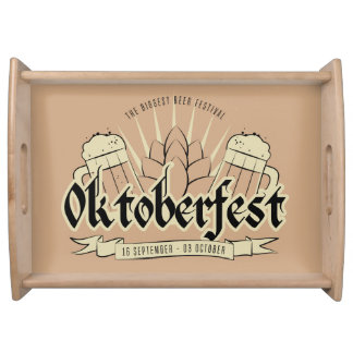 Oktoberfest Serviertablette Tablett
