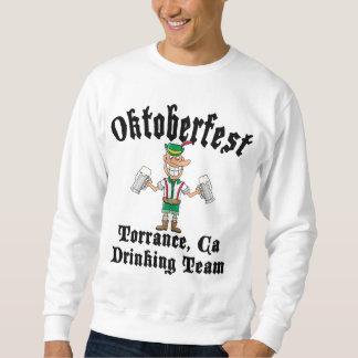 Oktoberfest Torrance, Kalifornien trinkendes Team Sweatshirt