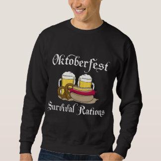 Oktoberfest Überlebens-Zuteilungen Sweatshirt