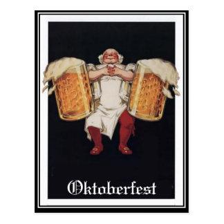 Oktoberfest Vintage Postkarte