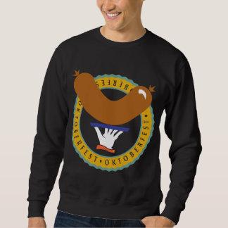 Oktoberfest Weiner schwarzer T - Shirt