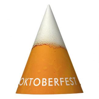 Oktoberfest. Wirkliche Bier-Seifenlösungen Partyhütchen