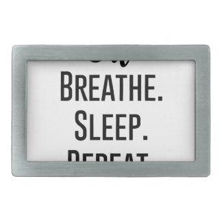 Öl atmen Schlafwiederholung - Öl-Produkt Rechteckige Gürtelschnalle