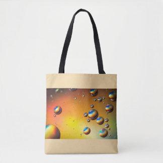 Öl auf Wasser Tasche