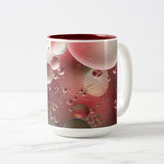 Öl auf Wasser Zweifarbige Tasse