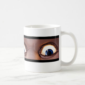 Ol blaue Augen ist zurück! - Schreiben auf links Kaffeetasse