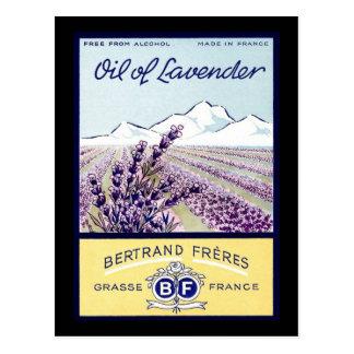 Öl des Lavendels - Grasse Frankreich Postkarte