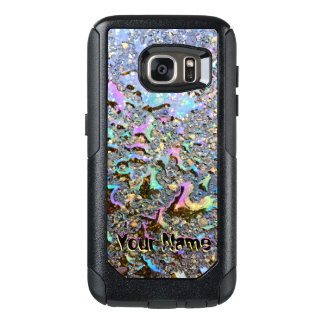 Öl fällt im Sonnenlicht mit Ihrem Namen OtterBox Samsung Galaxy S7 Hülle