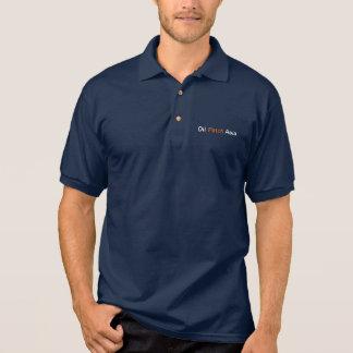 Öl-Flecken-Asien-Polo (Marine) Polo Shirt