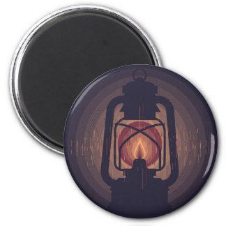 öl lamp runder magnet 5,1 cm