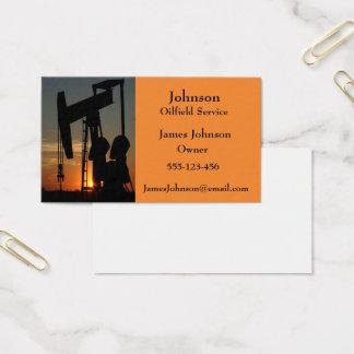Öl-und Gas-Industrie-Visitenkarten Visitenkarte