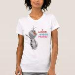 Olaf - i-Liebe-warme Umarmungen T-shirt
