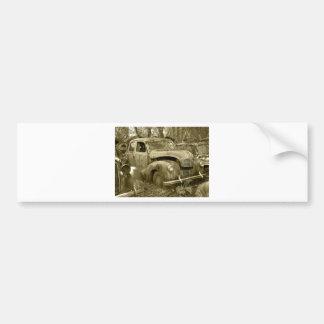 old car 2 autoaufkleber