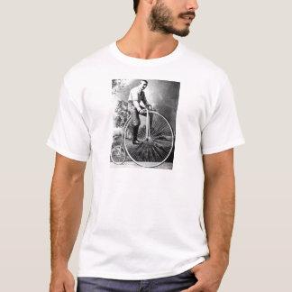 Old Timey Pennyfarthing viktorianisches Fahrrad T-Shirt