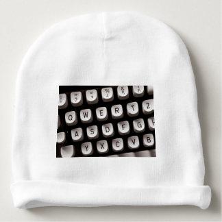 Old Typewriter Babymütze