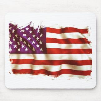 Old USA flag Mousepad