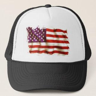 Old USA flag Truckerkappe