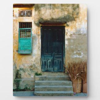 Old Vietnamese Wall Fotoplatte