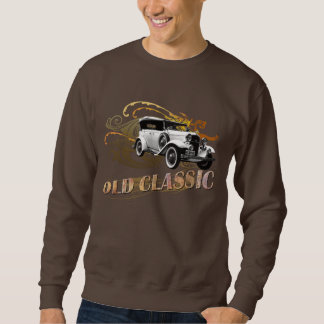 OldClassicCar_BSweatshirt Sweater