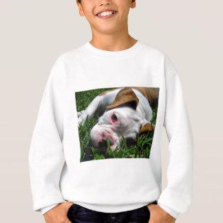 Olde englischer Bulldoggen-Welpe Sweatshirt