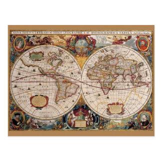 Olde Weltpostkarte Postkarte