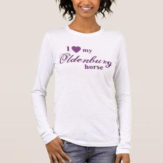 Oldenburg-Pferd Langarm T-Shirt