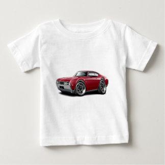 Olds 442 kastanienbraunes Auto 1968 Baby T-shirt