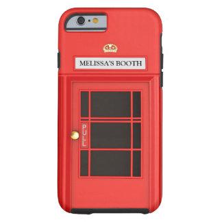 Oldschool Briten Telefonzelle Tough iPhone 6 Hülle