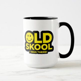 Oldskool - ich war dort - Rave-saure smiley-Tasse Tasse