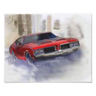 Oldsmobile 442 photodruck