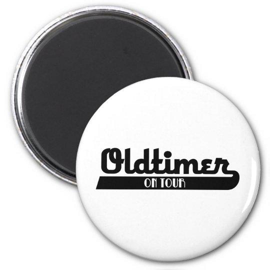oldtimer runder magnet 5,7 cm