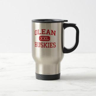 Olean - Huskies - mittlere Schule - Olean New York Reisebecher